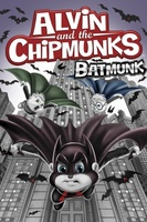 Alvin and the Chipmunks Batmunk movie poster