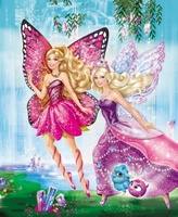 Barbie Mariposa and the Fairy Princess movie poster