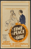 The Time, the Place and the Girl movie poster