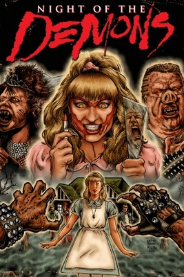 Night of the Demons movie poster