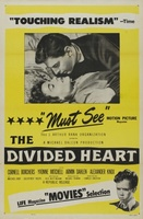 The Divided Heart movie poster