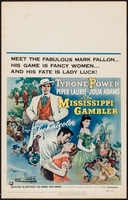 The Mississippi Gambler movie poster