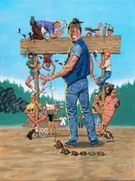 Ernest Goes to Camp movie poster