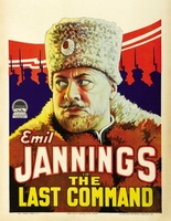 The Last Command movie poster