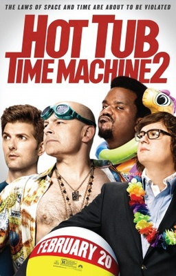 Hot Tub Time Machine 2 movie poster