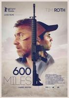 600 Millas movie poster