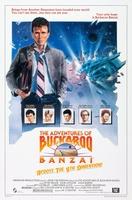 The Adventures of Buckaroo Banzai Across the 8th Dimension movie poster