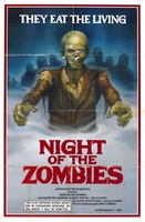 Night of the Zombies movie poster