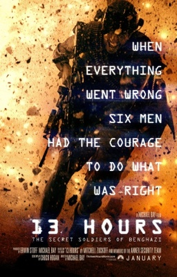 13 Hours: The Secret Soldiers of Benghazi poster #1261099