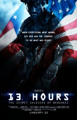13 Hours: The Secret Soldiers of Benghazi poster #1261654