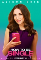 How to Be Single (2016) movie poster #1261716