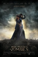 Pride and Prejudice and Zombies movie poster #1301248