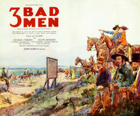 3 Bad Men movie poster