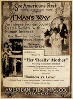 A Man's Way movie poster