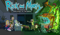 """""""Rick and Morty"""" movie poster"""