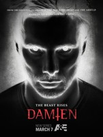 """Damien"" movie poster"