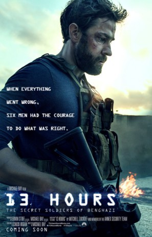 13 Hours: The Secret Soldiers of Benghazi poster #1301816