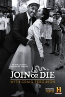 """Join or Die with Craig Ferguson"" movie poster"