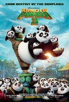 Kung Fu Panda 3 (2016) movie poster #1326712