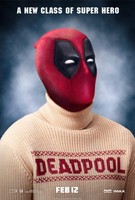 Deadpool (2016) movie poster #1327529