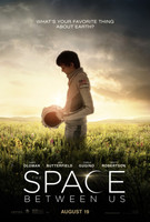 The Space Between Us (2017) movie poster #1374184