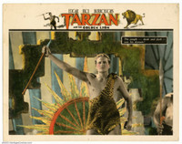 Tarzan and the Golden Lion movie poster