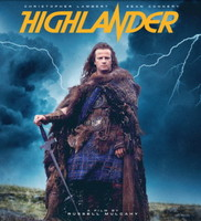 Highlander movie poster