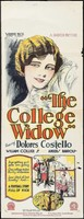 The College Widow movie poster
