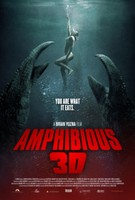 Amphibious 3D movie poster