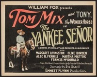 The Yankee Señor movie poster