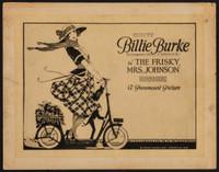 The Frisky Mrs. Johnson movie poster