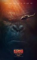 Kong: Skull Island (2017) movie poster #1423359