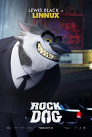 Rock Dog (2016) movie poster #1466739