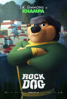 Rock Dog (2016) movie poster #1466741