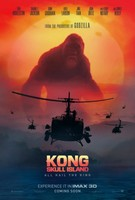Kong: Skull Island (2017) movie poster #1467262