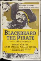 Blackbeard, the Pirate movie poster