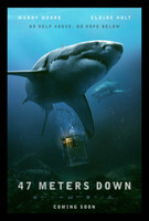 47 Meters Down movie poster