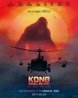 Kong: Skull Island (2017) movie poster #1467622