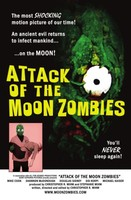 Attack of the Moon Zombies movie poster