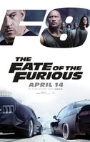The Fate of the Furious (2017) movie poster #1467750