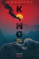 Kong: Skull Island (2017) movie poster #1467976