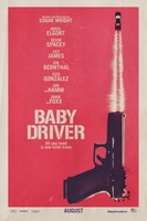 Baby Driver (2017) movie posters