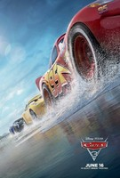 Cars 3 movie poster