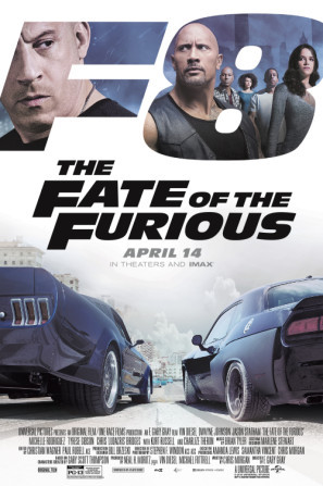 The Fate of the Furious poster #1480087