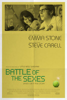 Battle of the Sexes (2017) movie posters