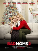 A Bad Moms Christmas movie poster