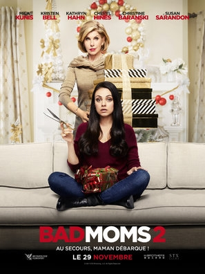 A Bad Moms Christmas poster #1516510