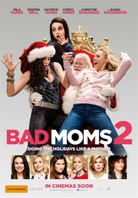 A Bad Moms Christmas poster #1517363