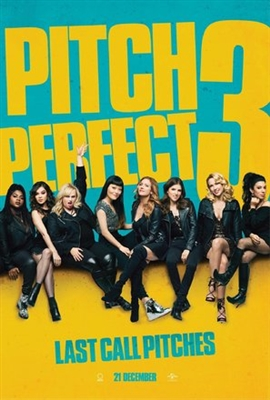 Pitch Perfect 3 poster #1519518