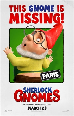 Gnomeo & Juliet: Sherlock Gnomes poster #1520411